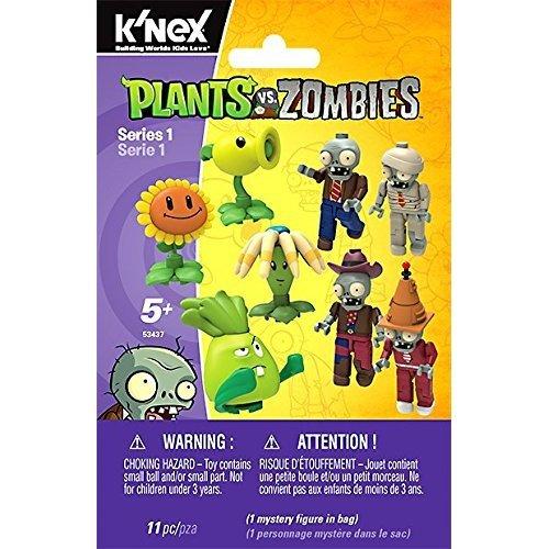K'Nex Plants vs Zombies Mystery Figure Series 1 Random