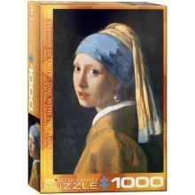 Eg60005158 - Eurographics Puzzle 1000 Pc - Girl with the Pearl Earring