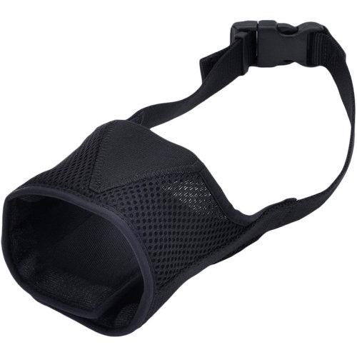 """Best Fit Adjustable Comfort Dog Muzzle-Black, Snout Size 8.25""""-10.5"""""""