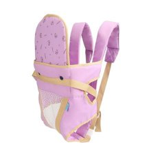 Baby Carrier Double Shoulders Seat Carrier,Dacron fabric Baby Carrier Purple