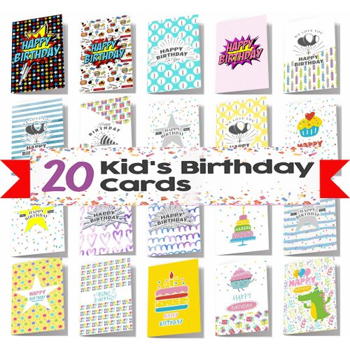 20 Kids Birthday Cards