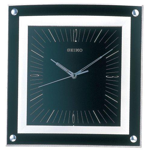Seiko QXA330K Elegant Analogue Wall Clock - Black