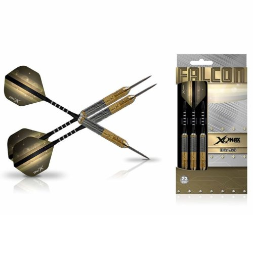 XQmax Darts Dart Set Falcon 3 pcs 23g Brass Steel QD1103170