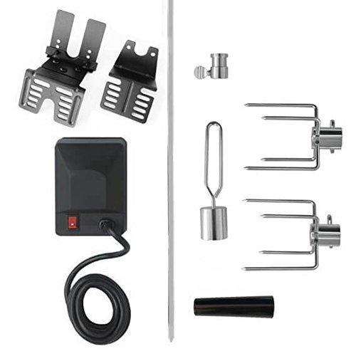 Callow Retail Electric Universal Rotisserie Kit - 240 volt BBQ Rotisserie