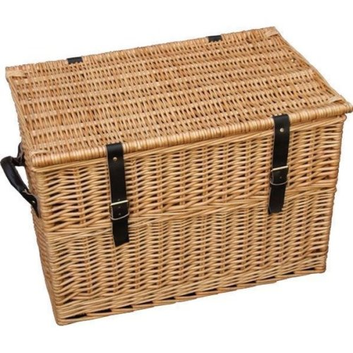 60cm Wicker Chest Storage Basket