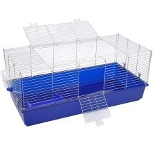 Pawhut Rabbit Cage Guinea Pig Hutch House Playpen Run 120(l) X 58(w) X 40(h)cm
