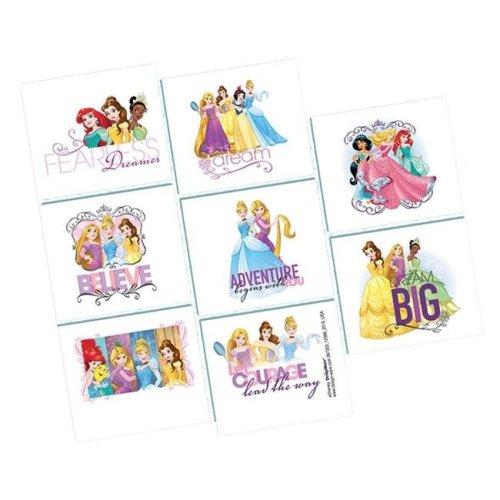 Amscan AM397303 Disney Princess Tattoos