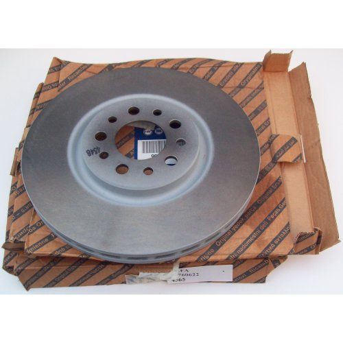 Alfa Romeo 159 939 Genuine 330mm Diameter Front Vented Brake Disc x2 51760622