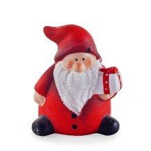 Cute Ceramic Father Christmas Ornament