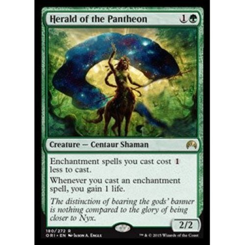 Magic: the Gathering - Herald of the Pantheon (180272) - Origins - Foil