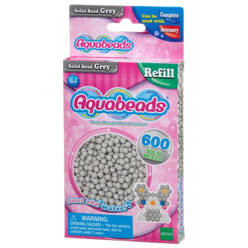 Aquabeads Solid Bead Pack - Grey