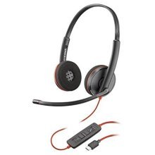 Plantronics Blackwire 3200 Stereo Corded UC Headset With USB-C Connectivity