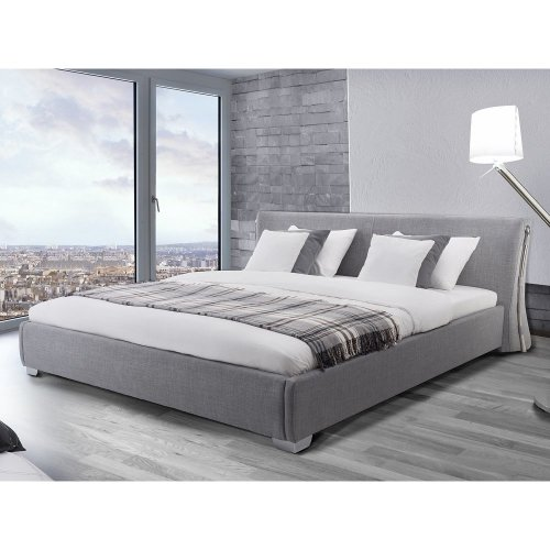 Bedombouw 180 X 200 Cm.Water Bed Super King Size Full Set 6 Ft 180 X 200 Cm Paris Grey