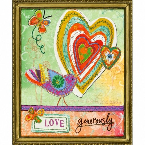 D72-73770 - Dimensions Stamped Embroidery - Love Generously