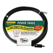 Power Snake 81150 0.25 in. x 15 ft. Drain Auger