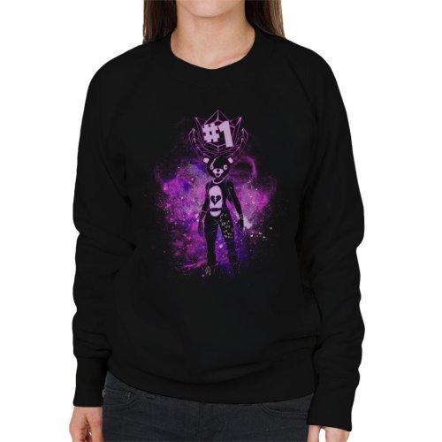 Fortnite Battle Royale Teddy Bear Women's Sweatshirt