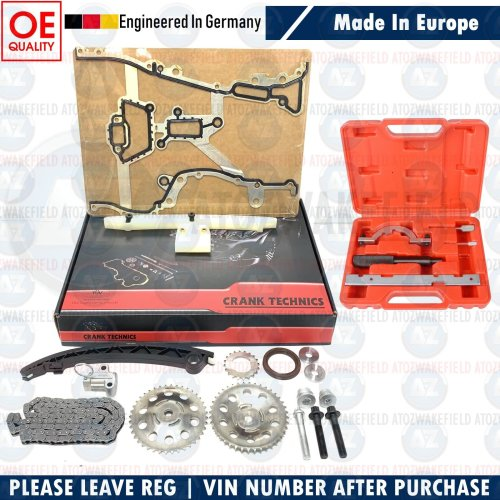 FOR VAUXHALL AGILA ASTRA CORSA C D MERIVA TIMING CHAIN KIT TIMING TOOL 55562234