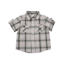 Bright Bots Woven Check Shirt