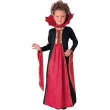 Medium Pink Girls Gothic Vampiress Costume