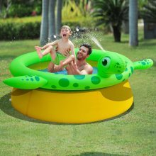 Jilong Inflatable Spray Pool Turtle Shape 175x62 cm 1270 L