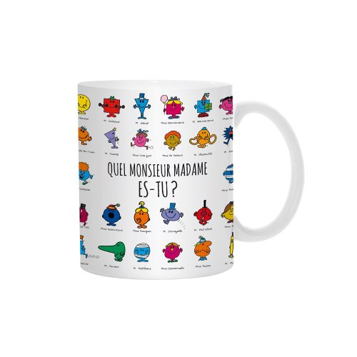 Monsieur Madame Mm3107â M12â Heat Color Changing Mug Ceramic 12â X