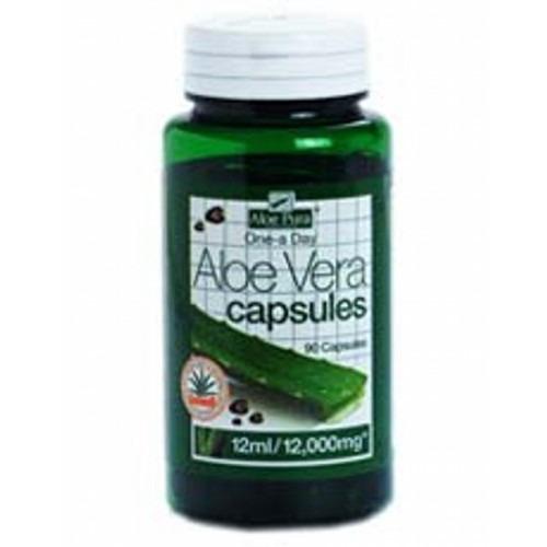 Aloe Pura Aloe Vera Double Strength Oad 90 Capsules