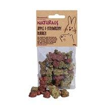 Small animal treats Strawberry & Apple Bunnies 100g