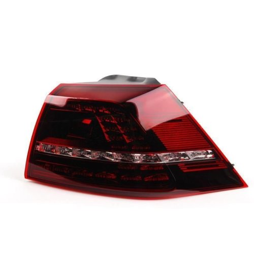 Vw Golf Mk7 R 2013-2015 Smoked Led Rear Tail Light Drivers Side O/s