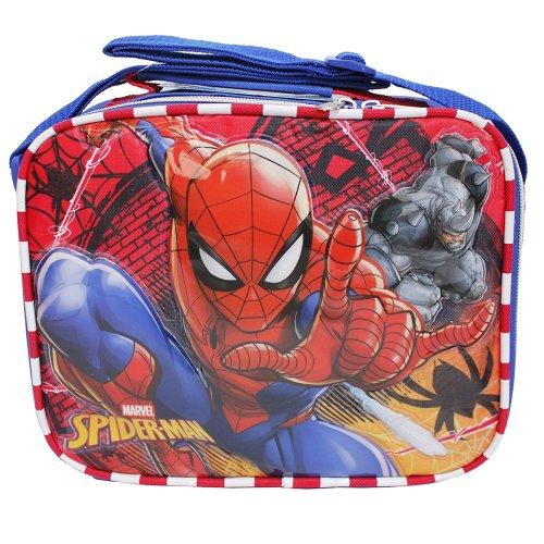 Lunch Bag - Marvel - Spiderman vs Green Goblin Red 121600