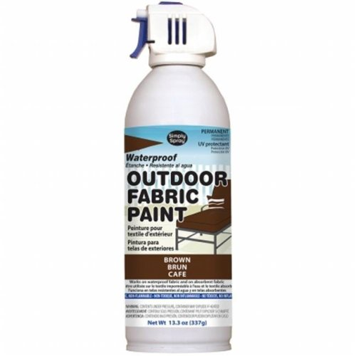 OF0046-2M Outdoor Spray Fabric Paint - 13.3 oz., Brown