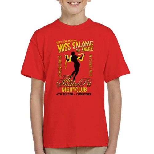 Miss Salome And The Snake Blade Runner Kid's T-Shirt