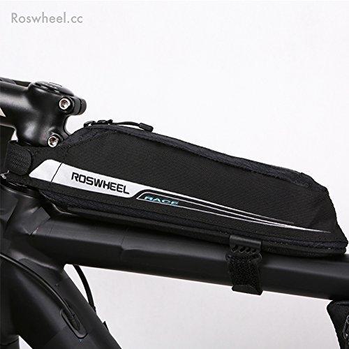 Roswheel UK/Europe Aerodynamic Aero Lightweight Road Bike Top Tube Cargo Frame Bag