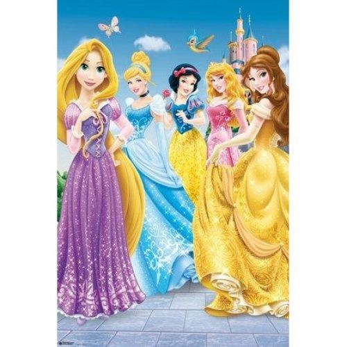 Poster Princesas Disney