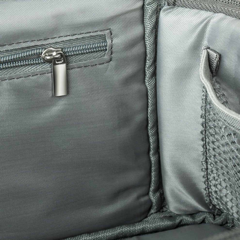 e6939e395639c ... Ellis James Designs Travel Make Up Bag Large - Grey - Vanity Case Large  - Large ...