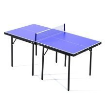 Homcom Folding Mini Compact Table Tennis Set Sports Training