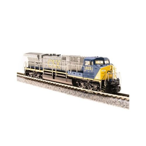 Broadway Limited Imports BLI3745 N Scale GE AC6000CW with Paragon3 Sound Model Train, CSX - No.53