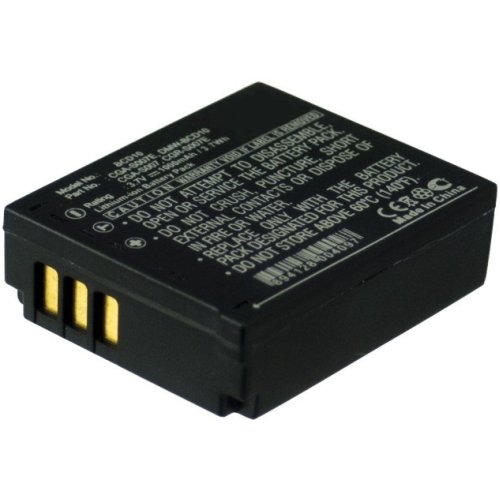MicroBattery MBXCAM-BA298 Camera Battery for Panasonic MBXCAM-BA298
