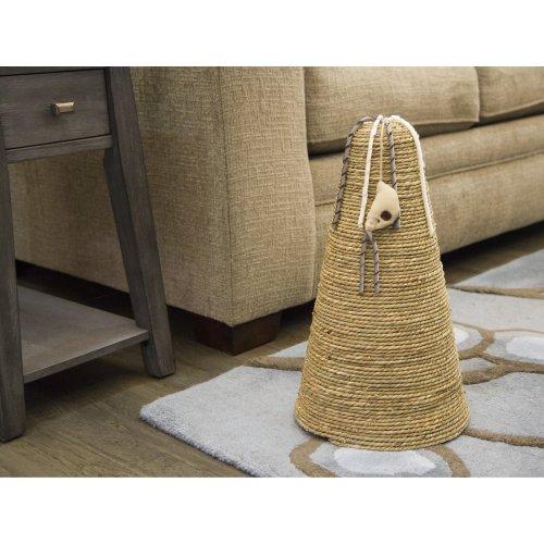Petlinks Claw Cone Seagrass Scratcher-