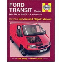 Ford Transit, February 1986 to 1999 (C to T registration) Diesel: Haynes Service and Repair Manuals (Service & repair manuals)