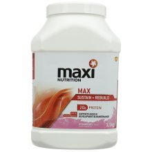 MaxiNutrition Max Protein Shake Powder, 1.1 kg - Strawberry