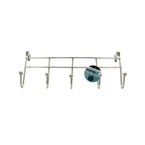 Bulk Buys OD909-12 Over The Door Hook Rack