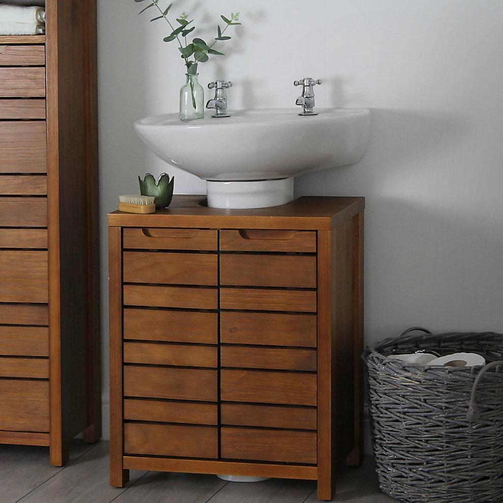 Enjoyable South Bay Under Basin Sink Bathroom Storage Unit Cupboard Cabinet Beutiful Home Inspiration Ommitmahrainfo