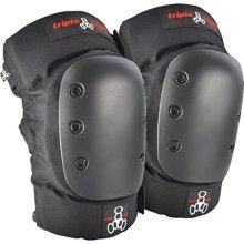 Triple 8 KP 22 Knee Pads (Black, Small)