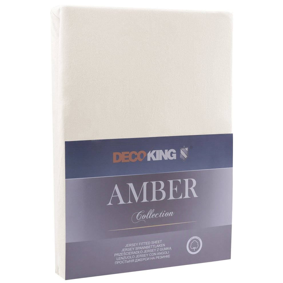 dbd32ee752a decoking fitted sheet uk single cotton jersey boxspring amber collection xx  cm with 90x200