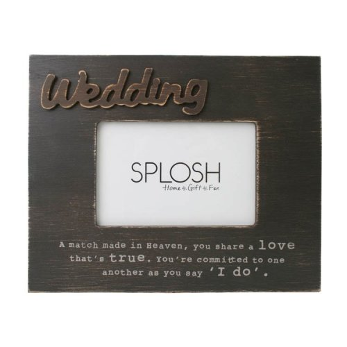 Wedding Photo Frame - Splosh Expressions