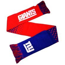 Forever Collectibles New York Giants Fade Nfl Scarf - Fd Official Licensed -  new giants scarf york fd nfl official licensed football