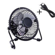 Mini Fan,Portable Fan, USB Fan, Desktop Fan(Black+1.4M USB Cable)