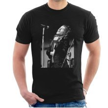 Debi Doss Official Photography - Faces Rod Stewart Southern Illinois University 1971 Men's T-Shirt