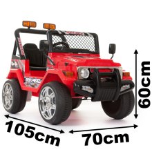 12V 2 Seater Kids Ride On Electric Battery Powered 4x4 Car Truck Jeep Keyni