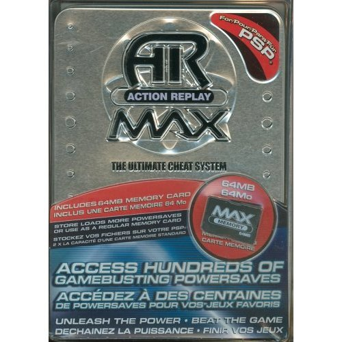 AR Action Replay MAX  Sony PSP